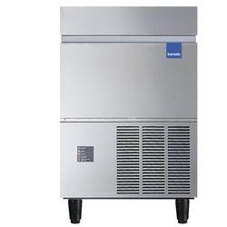 Łuskarka do lodu 120 kg/24 h, pojemność zasobnika 27 kg, chłodzona wodą, 0,43 kW, 680x510x1000 mm | ICEMATIC, F125CW