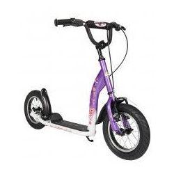 """Hulajnoga dla dzieci, pompowane koła 12"""" BikeStar kolor lila"""