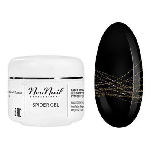 Pozostałe manicure i pedicure, NeoNail SPIDER GEL - Gold