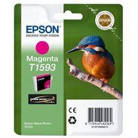 Tonery i bębny, Epson oryginalny ink C13T15934010, magenta, 17ml, Epson Stylus Photo R2000