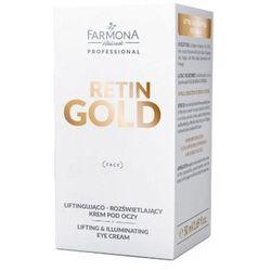 Farmona RETIN GOLD Liftingująco-rozjaśniający krem pod oczy