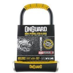 Zapięcie U-lock ONGUARD Pitbull LS 8002 czarny-żółty / Rozmiar: 11 x 29 cm Przy złożeniu zamówienia do godziny 16 ( od Pon. do Pt., wszystkie metody płatności z wyjątkiem przelewu bankowego), wysyłka odbędzie się tego samego dnia.