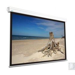Ekran elektryczny Avers Focus II 240x240cm, 1:1, Matt White