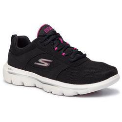 Buty SKECHERS - Go Walk Evolution Ultra-Enhance 15734/BKPK Black/Pink