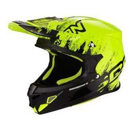SCORPION VX-21 AIR MUDIRT BK-NEON YELLOW Kask motocrossowy