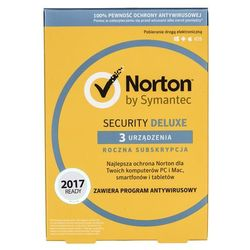 Oprogramowanie NORTON SECURITY 3.0 PL 1 USER 3 DEVICE 12 MO CARD MM