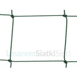 Siatka na orlik polietylenowa oko 120 x 120mm splotka fi 2,5mm.