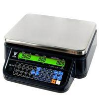 Wagi sklepowe, Waga kalkulacyjna bez wysięgnika czarna DIGI DS-782BR RS BK