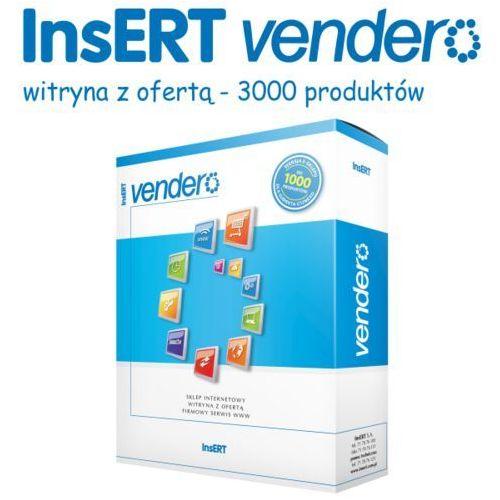 Programy kadrowe i finansowe, InsERT Vendero - witryna z ofertą - 3000 produktów