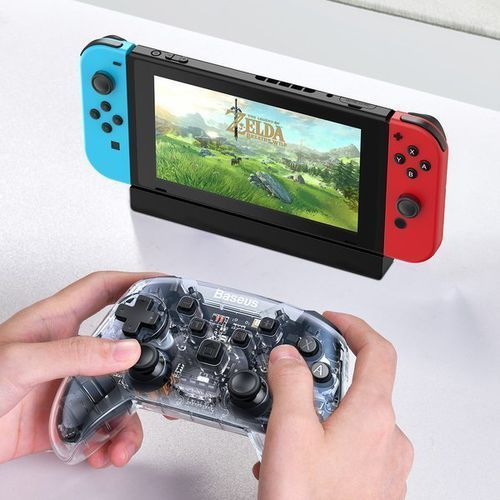 Gamepady, Baseus SW Motion Sensing | Gamepad kontroler bezprzewodowy bluetooth do Nintendo Switch
