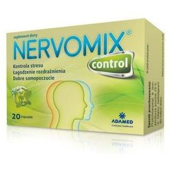 NERVOMIX CONTROL x 20 kapsułek
