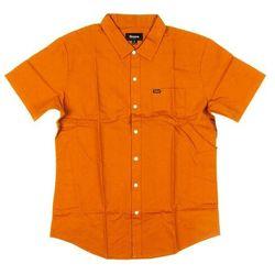 koszula BRIXTON - Charter Oxford S/S Wvn Cumin (CUMIN) rozmiar: L