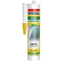 Soudal akryl lekki szpachlowy 300 ml - biały