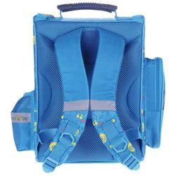 Tornister szkolny Minonki niebieski