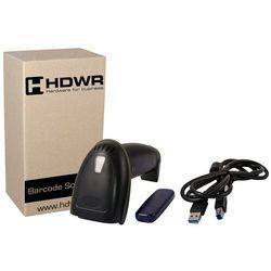 Bezprzewodowy skaner kodów kreskowych 1D HDWR HD-43   MHz