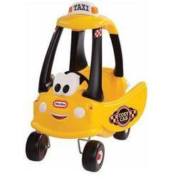 Samochód Cozy Coupe żółta Taxi + PREZENT do zakupów za min.30 zł.