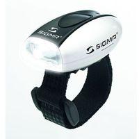 Oświetlenie rowerowe, Sigma Lampka rowerowa Micro - Przednia - Biała