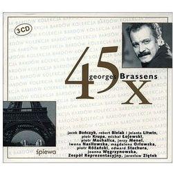 45 x Georges Brassens (CD) - Agencja Artystyczna MTJ