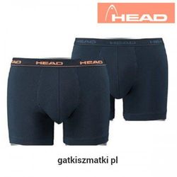 Bokserki męskie HEAD Granat Pecout Orange
