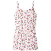 Sukienki dziecięce, Letni kombinezon bonprix biel wełny