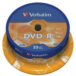 Verbatim DVD+R 16x 4.7 GB 50 szt.