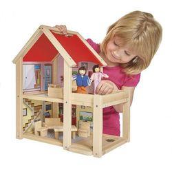 Eichhorn Drewniany domek dla lalek 9 elementów 2501