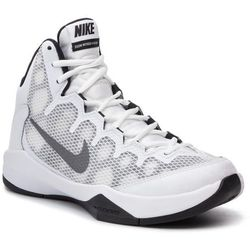 Buty NIKE - Zoom Without A Doubt 749432 100 White/Rflct Silver/Blk/Cl Grey