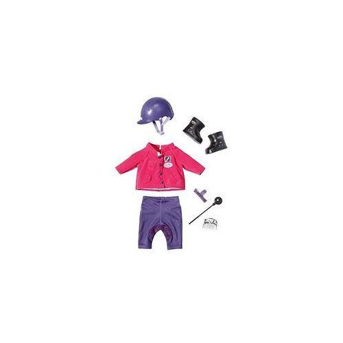 Ubranka dla lalek, Baby born - Ubranko jeździeckie