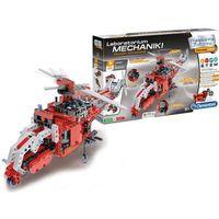 Pozostałe zabawki, Zabawka naukowa CLEMENTONI Laboratorium Mechaniki - Pojazdy Ratunkowe