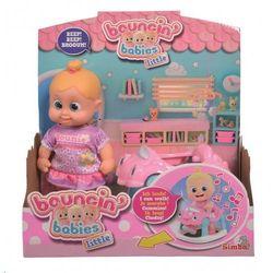Lalka Bouncin Babies Little Bonny z chodzikiem - DARMOWA DOSTAWA OD 199 ZŁ!!!