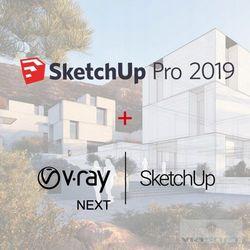Sketchup Pro 2019 ENG + V-Ray NEXT