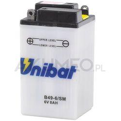 Akumulator UNIBAT B49-6 6V 7Ah