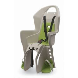 Fotelik rowerowy na bagażnik Polisport Koolah RMS - kremowo/zielony