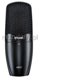 Shure SM 27 LC mikrofon studyjny Płacąc przelewem przesyłka gratis!