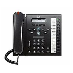 CP-6961-C-K9 Telefon Cisco CP-6961, Charcoal, Standardowa słuchawka
