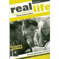 Książki do nauki języka, Real Life Elementary Workbook + CD (wydanie uaktualnione) Longman (opr. miękka)