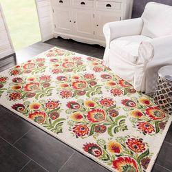 Dekoria Dywan Modern Folk cream 160x230cm, 160 × 230 cm