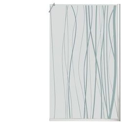 Ścianka prysznicowa w stylu włoskim DANNA z sitodrukiem – 140 × 200 cm