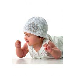 Biała czapka dziewczęca 3X40BP Oferta ważna tylko do 2031-05-20