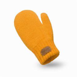 Rękawiczki dziewczęce PaMaMi - Miodowy - Miodowy