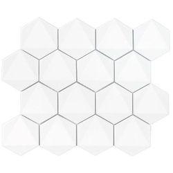 DUNIN mozaika ceramiczna HEXAGONIC WHITE 74