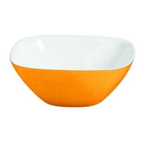 Misy i miski, Duża misa Vintage, pomarańczowa - pomarańczowy