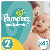 Pieluchy jednorazowe, PAMPERS New Baby-dry pieluchy 2 Mini 43szt pieluszki