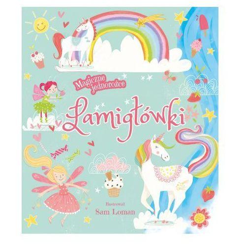 Książki dla dzieci, Magiczne jednorożce. Łamigłówki (opr. broszurowa)