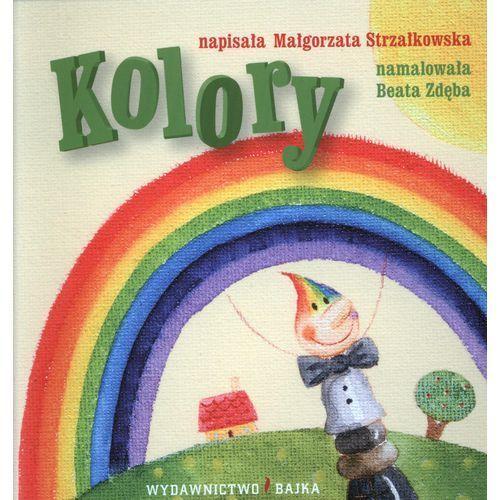 Książki dla dzieci, Kolory (opr. kartonowa)