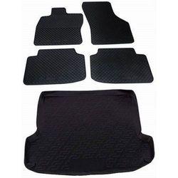 Brillant gumowe dywaniki i mata do bagażnika do Škody Fabii II Hatchback (5J) (3/2007-10/2014) - BEZPŁATNY ODBIÓR: WROCŁAW!