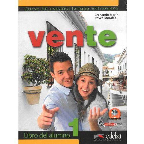 Książki do nauki języka, Vente 1 Libro del alumno - wyślemy dzisiaj, tylko u nas taki wybór !!! (opr. miękka)