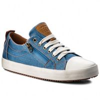 Buty sportowe dla dzieci, Trampki GEOX - J Alonisso B. D J822CD 00010 C4Z6N D Lt Blue/Cognac