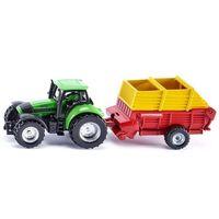 Traktory dla dzieci, Zabawka SIKU Traktor z ładowarką Pottinger S1676