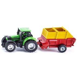 Traktor z przyczepą pottinger